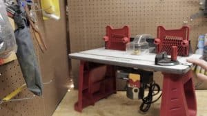 Craftsman Router and Router Table Combination
