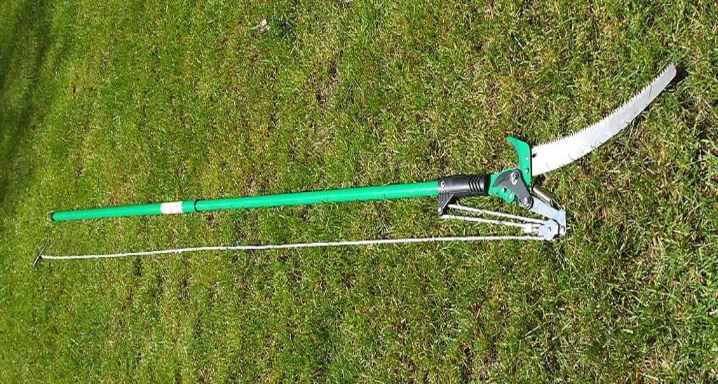 green pole saw