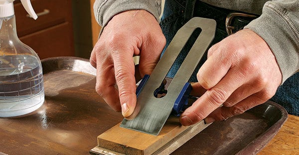 How To Sharpen A Block Plane