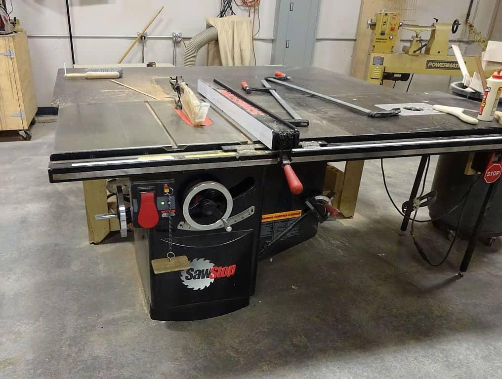 SawStop machine tool
