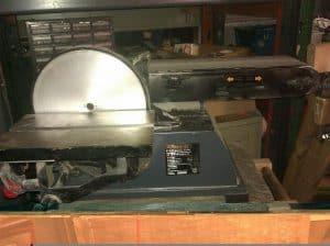 powertec belt disc sander