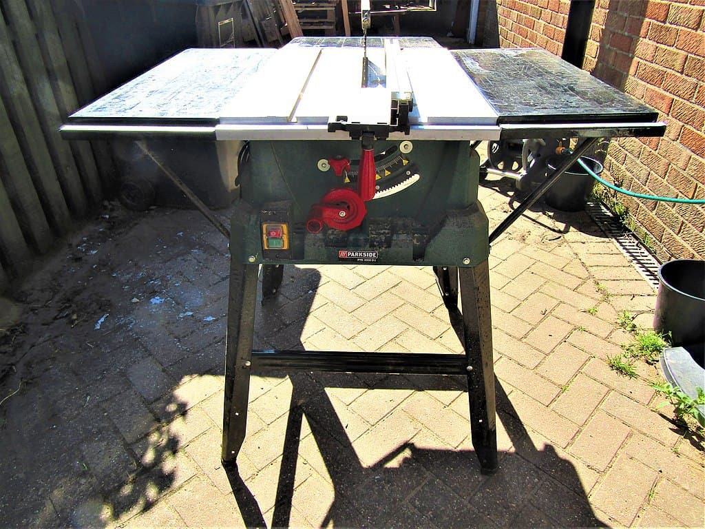 Burnt out table saw