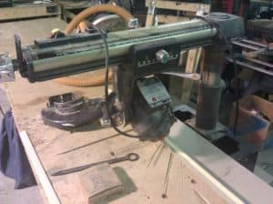 radial arm saw