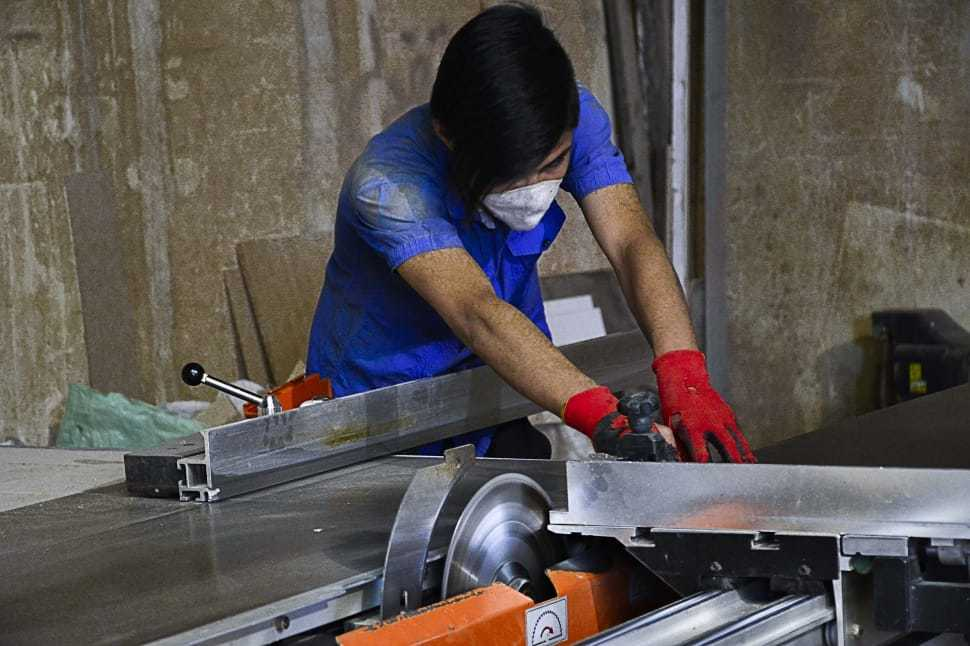 stainless steel table saw