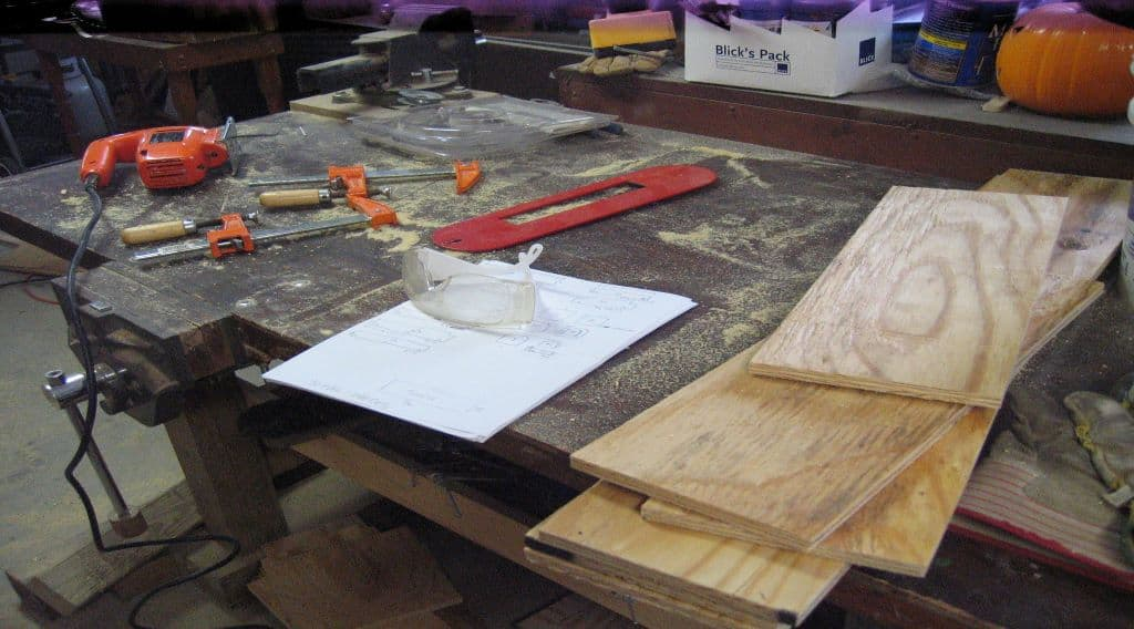 table saw to cut the lengths and widths