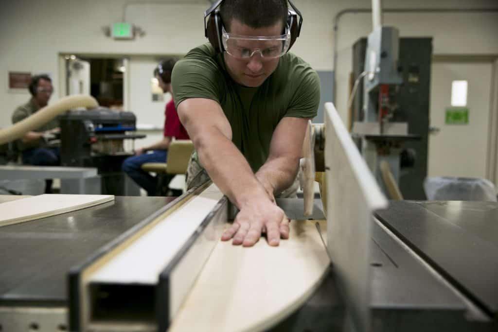 Man gets creative at Wood workshop