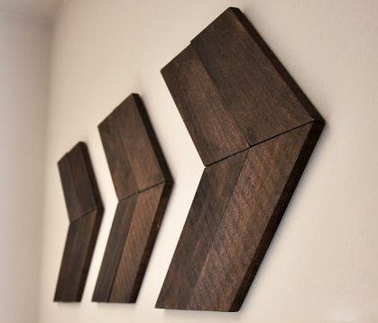wooden arrows wall art