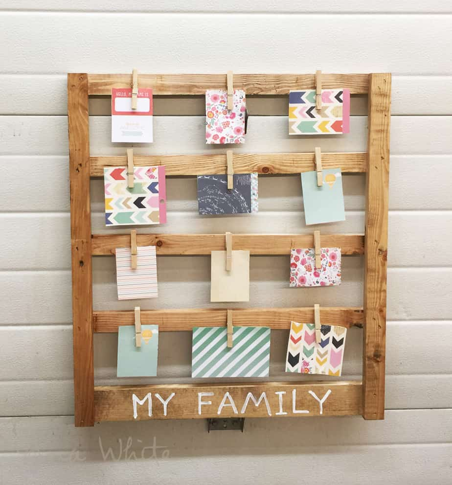 photo clip display frame